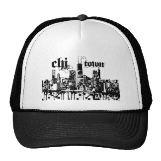 Chicago ji-ciudad puso para su ciudad gorras