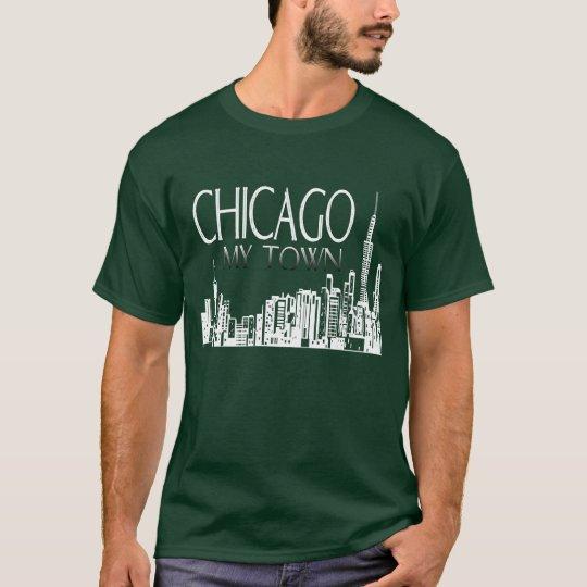 Chicago mi ciudad camiseta
