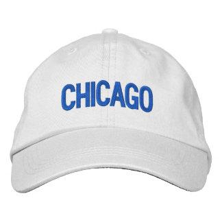 Chicago personalizó el gorra ajustable gorro bordado