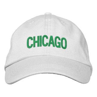 Chicago personalizó el gorra ajustable gorras bordadas