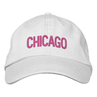 Chicago personalizó el gorra ajustable gorra de beisbol