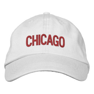 Chicago personalizó el gorra ajustable gorra de beisbol bordada