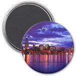 Chicago púrpura imanes