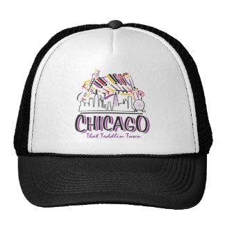 CHICAGO-TODDLIN-TOWN GORRO