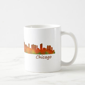 chicago US Skyline cityscape Taza De Café