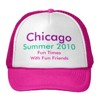 Chicago, verano 2010, TH2 del rosa fuerte del Gorra
