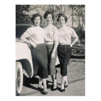 CHICAS 1957 DEL ENCANTO #47 POSTAL