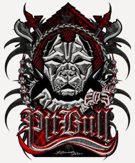 Chicas 5 de PitBull de la élite Camisetas