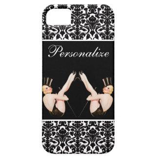 Chicas ascendentes de la demostración del Pin del iPhone 5 Case-Mate Cárcasas