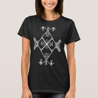 Chicas básicos de la camiseta del arte de Amazigh