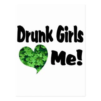 Chicas borrachos postales