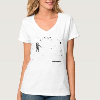 Chicas de Astrofun con cuello de pico Camisetas