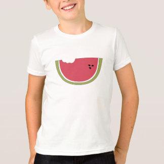 Chicas de la camiseta de la sandía