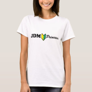 Chicas de la princesa tirante de espagueti de JDM Camiseta