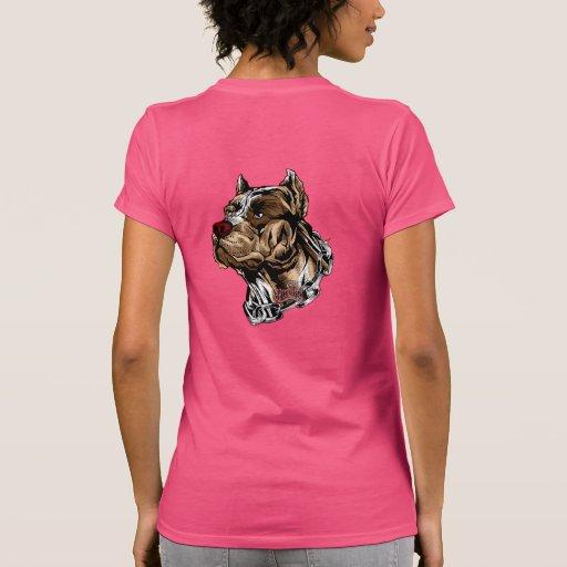 Chicas de Pitbull Camisetas