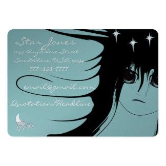 Chicas del animado plantillas de tarjetas personales
