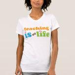Chicas del regalo del profesor camisetas