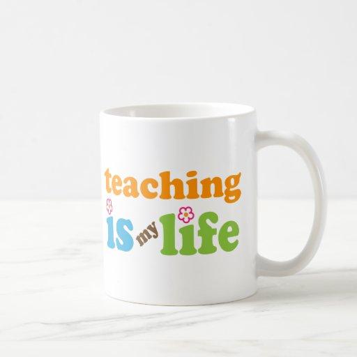 Chicas del regalo del profesor tazas de café
