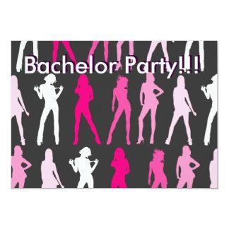 ¡CHICAS, despedida de soltero!!! ¡, Despedida de Invitación 12,7 X 17,8 Cm