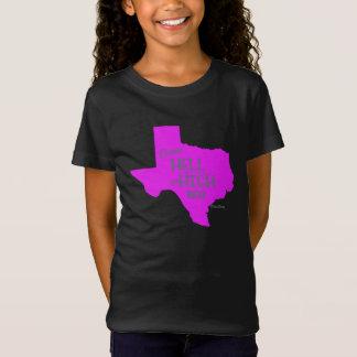 Chicas fuertes de la camiseta de los #Texas del