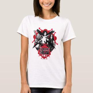 """Chicas """"guerrero femenino """" del pelotón del camiseta"""