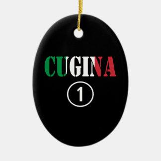 Chicas italianos de los primos: Uno de Cugina Nume Adornos De Navidad