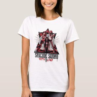 Chicas locos bonitos del pelotón del pelotón el | camiseta