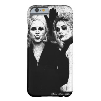 Chicas - negros y caja blanca del iPhone 6 Funda Para iPhone 6 Barely There