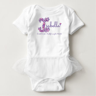 Chicas nombre de Isabel y camisa del monograma del
