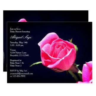 Chicas rosados bonitos del ~ de la invitación de