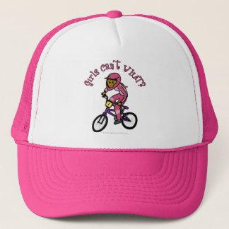 Chicas rosados oscuros BMX Gorra De Camionero
