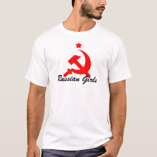 chicas rusos camiseta