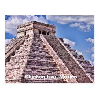 Chichen Itza, postal de México