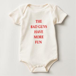 chicos malos body para bebé
