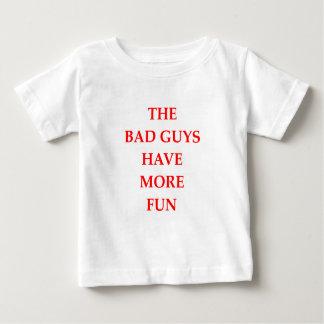 chicos malos camiseta de bebé