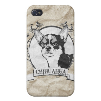 CHIHUAHUA 5 iPhone 4 FUNDAS