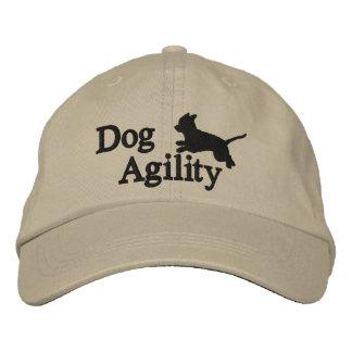 Chihuahua de la agilidad gorra de beisbol bordada