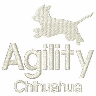 Chihuahua de la agilidad sudadera encapuchada