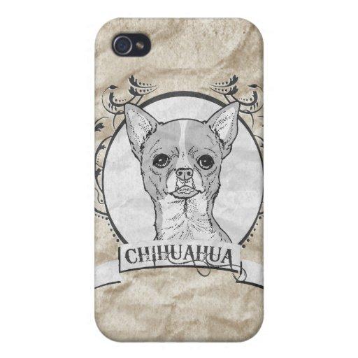 CHIHUAHUA iPhone 4 FUNDAS