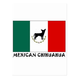 Chihuahua mexicana postal