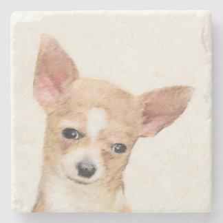 Chihuahua Posavasos De Piedra