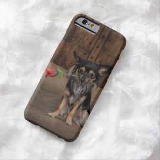Chihuahua - rosa funda para iPhone 6 barely there