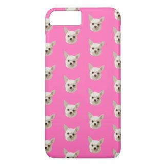 Chihuahua rosada funda para iPhone 8 plus/7 plus