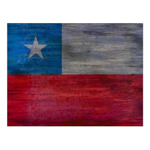 Chile apenó la bandera chilena tarjetas postales