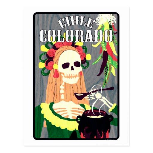 chile Colorado (esquema fresco) Postales