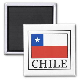 Chile Imán Cuadrado