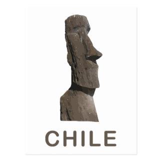 Chile Moai Tarjetas Postales