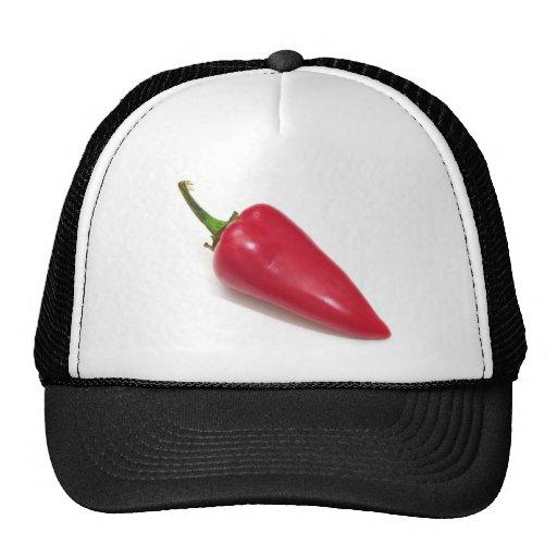 Chile rojo gorras de camionero