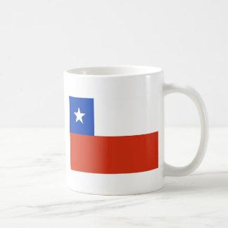 chile taza básica blanca