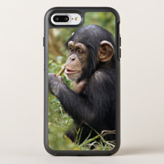 Chimpancé del bebé (trogloditas de la cacerola) funda OtterBox symmetry para iPhone 8 plus/7 plus